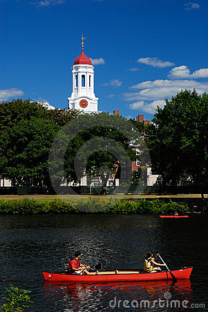 Free Red Boats By Harvard Stock Photos - 3143653