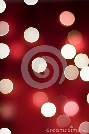 Red Bokeh Lights