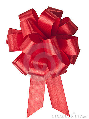 Free Red Bow Stock Images - 22322364