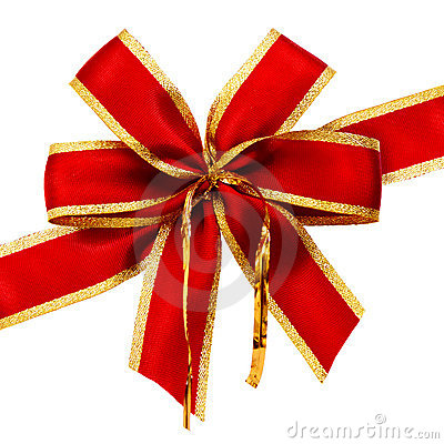 Free Red Bow Royalty Free Stock Image - 2416056