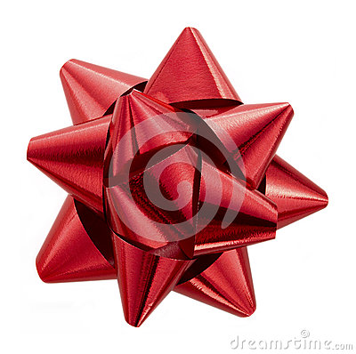 Free Red Bow Royalty Free Stock Photo - 27769135