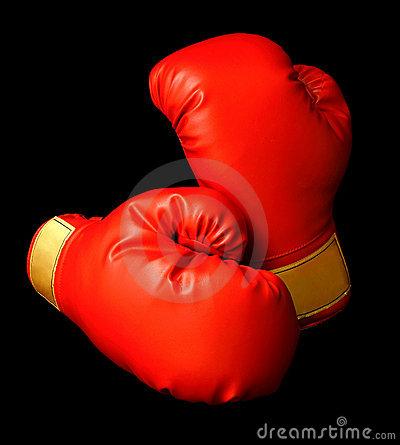 Free Red Boxing Gloves Royalty Free Stock Photo - 2289425