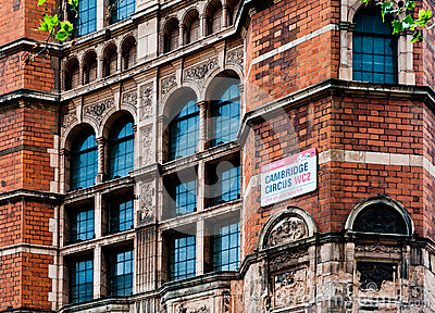 Red Brick Building, London Editorial Photography