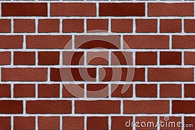Red brick exterior wall