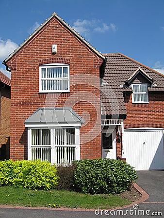 Red brick house UK