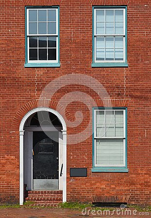 Red Brick Office Building