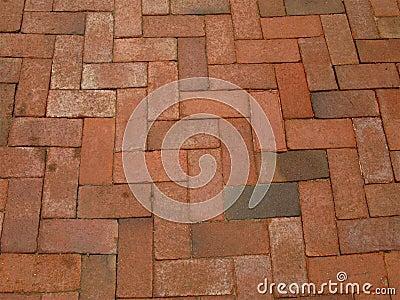 Red-brick-sidewalk