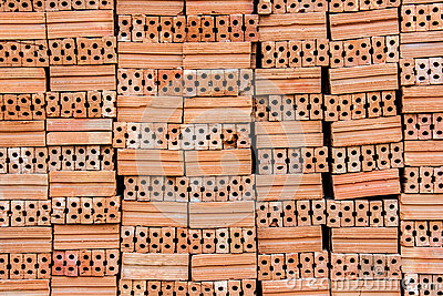 Red brick texture close up ready to use