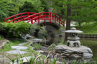 japanese garden bridge houzz red japanese garden bridge - Red Japanese Garden Bridge
