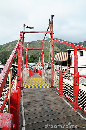 Red Bridge in Tai O