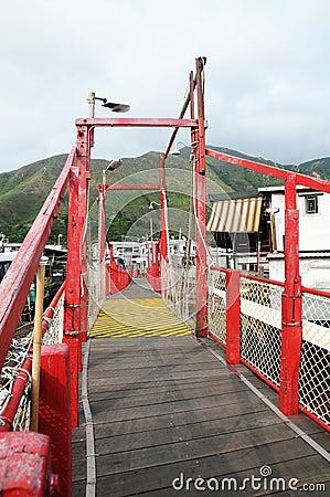 Red Bridge in Tai O