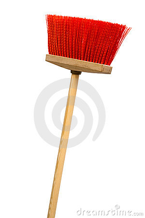 Red broom