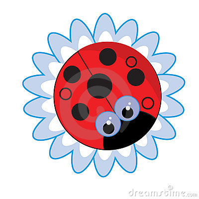 Red bug flower