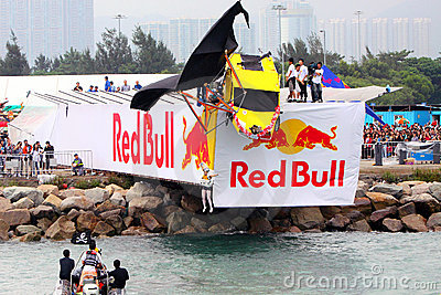 Red Bull Flugtag Hong Kong 2010 Editorial Stock Image