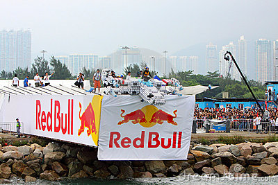 Red Bull Flugtag Hong Kong 2010 Editorial Image