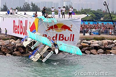 Red Bull Flugtag Hong Kong 2010 Editorial Stock Photo