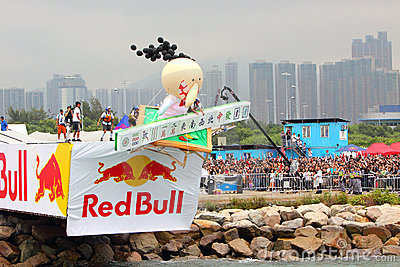 Red Bull Flugtag Hong Kong 2010 Editorial Photography