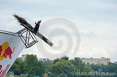 Red Bull Flugtag in Moscow 2013 Editorial Photo