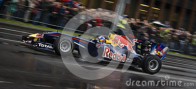 Red bull formula one racing team Editorial Photography