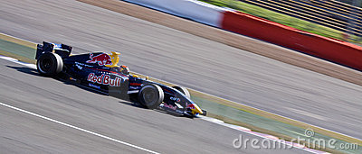 Red Bull race car Editorial Image