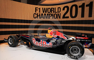 Red Bull Racing RB7 Renault Editorial Photo