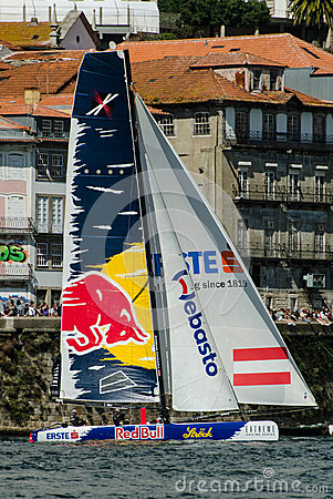 Red Bull Sailing Team compete Editorial Photography