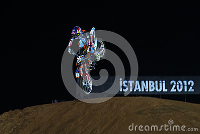 Red Bull X-Fighters Editorial Stock Image