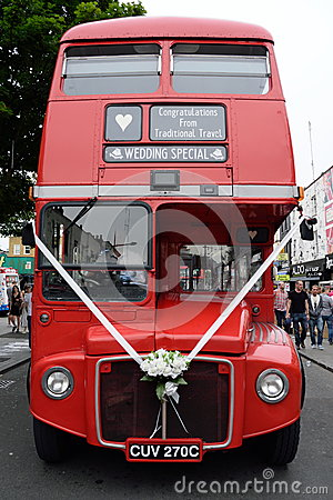 Free Red Bus Stock Images - 56848374