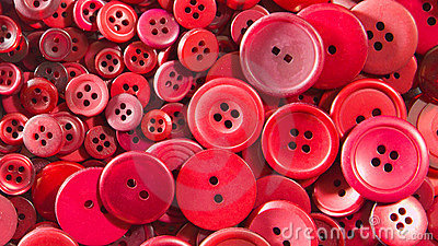 Red buttons - small and large.