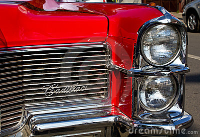 Red Cadillac Editorial Image