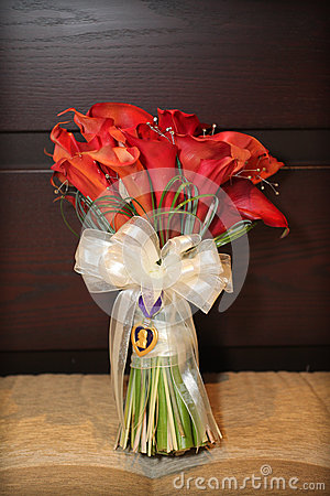 Red Calla Lily Flowers