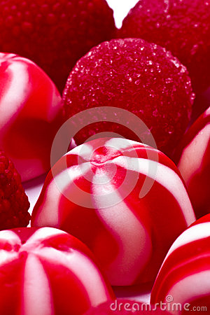 Free Red Candies And Jellies Stock Images - 45337074