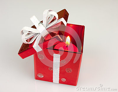 Red Candle Box