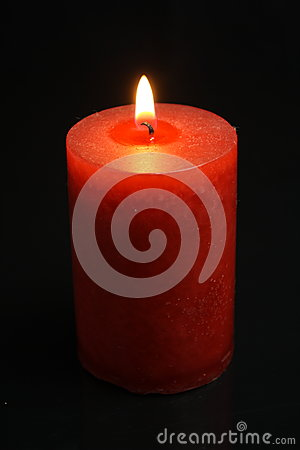 red candle black background - photo #41