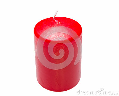 red candle white background - photo #20