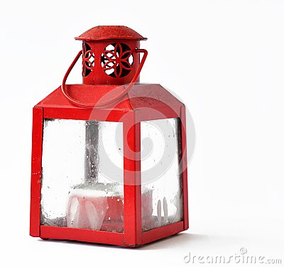 Red candle lantern