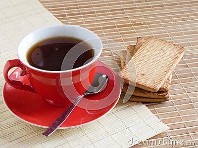 Red cap of tea