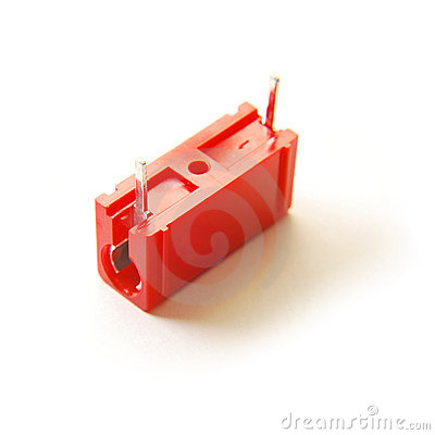 Red capacitor