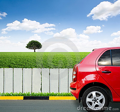 Free Red Car Stock Images - 21780374