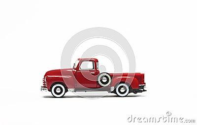 Red car model kid