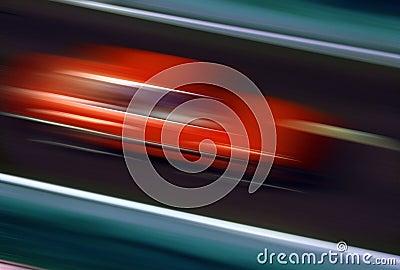 Speeding - Red Car - Speed
