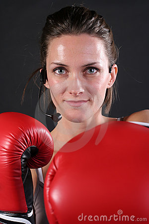 Red Cardio Gloves