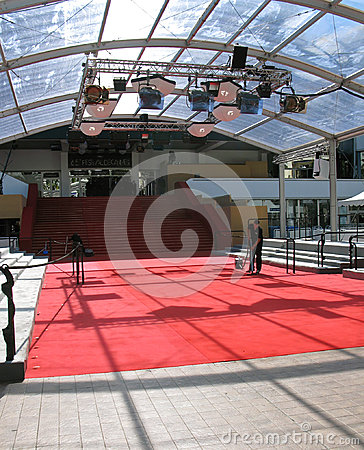 Red carpet Editorial Stock Photo