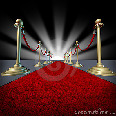Red carpet Hollywood