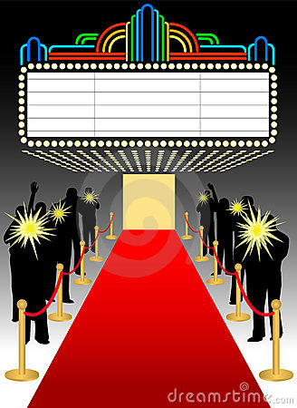 Red Carpet Premier Marqueeeps Stock Image Image 5459741
