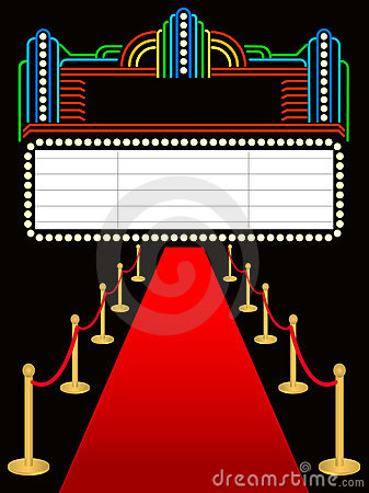 Red Carpet Premier Marquee/eps
