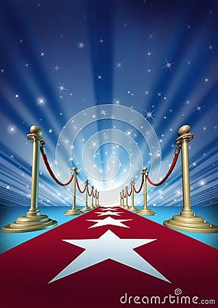 Free Red Carpet To Movie Stars Royalty Free Stock Photos - 24032338