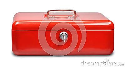 Red cash box