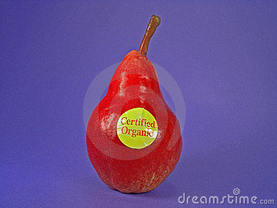 Red Certified Organic Pear