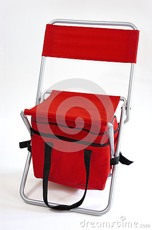 Red chair multipurpose